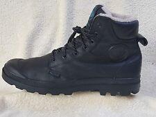 Palladium Waterproof mens boots Leather with Fur Black UK 10 EU 44.5