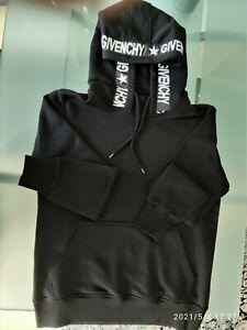 Givenchy Hoodie Sweatshirt Pullover Kapuze Schwarz Gr. M neuwertig