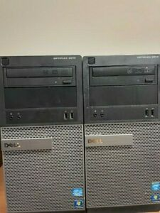 Dell OptiPlex 3010 Intel 4GB RAM 250GB or 500GB HDD PC