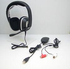 Plantronics GameCom X95 Black Headband Headsets for Microsoft Xbox 360 Tested OK