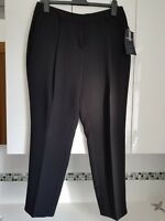 M&S LIMITED COLLECTION Black cropped trousers Size 12  BNWT