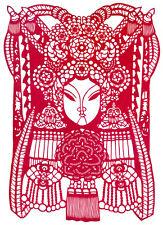 Chinese Opera Paper Cuts - Princess / Chinese Paper Cutout