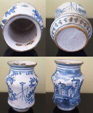 Vasetto Albarello Prima metà '800 (?) Ceramica
