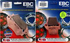 EBC R Series Front & Rear Brake Pad Set - Honda CRF250R, CRF450R _ FA185R|FA46R