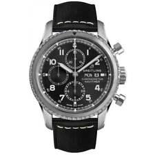 Breitling Navitimer 8 Chrono Auto 43mm Steel Mens Strap Watch Date A13314101B1X1