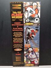 1996-97 Fleer NHL Hockey Trading Card Promo Sheet