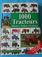 1000 Tracteurs : Histoire, modèles, technique, Udo Paulitz, 9782355300417
