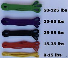 Resistance Bands Pull up Assist Strength Training Rehab Stretching