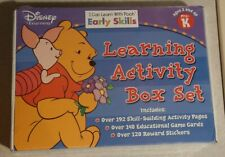 Nib Disney I Can Learn Early Skills With Pooh Learning Activity Box Pre-K