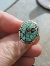 New ListingNavajo Turquoise Sterling Silver Ring Size 7