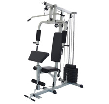 Home Gym Machine System Stack Strength Fitness Bodybuilding Bench Weight Lifting