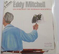 "EDDY MITCHELL - CD SINGLE ""UN PORTRAIT DE NORMAN ROCKWELL""  1ère POCHETTE - NEUF"