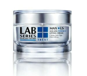 NEW & SEALED LAB SERIES MAX LS AGE-LESS POWER V LIFTING FACE CREAM FOR MEN 50ML