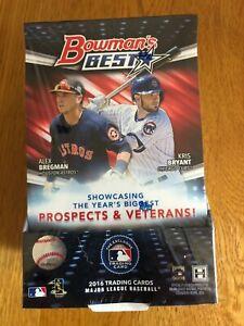 2016 Bowman's Best Baseball Hobby Master Box (2Mini-Box/12 Packs) Trout Auto?