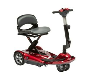 Dual Wheel Auto Folding Lightweight Electric Portable Travel Mobility Scooter