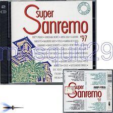 SANREMO 97 RARO 2CD: PATTY PRAVO OXA BERTE TOSCA NEK