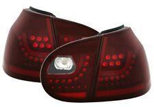 JOM URBAN STYLE LED RÜCKLEUCHTEN SET in CHERRY ROT für VW GOLF 5 V HECKLEUCHTEN