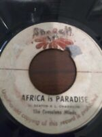 "The Conscious Minds-Africa Is Paradise 7"" Vinyl Single KILLER ROOTS REGGAE"