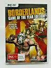 Borderlands Game Of The Year Edition Pc Dvd Game Computer Role Play Shooter