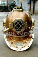 Deep Sea Diving Divers Helmet Brass Scuba Antique Mark V U.S Navy Nautical Gift