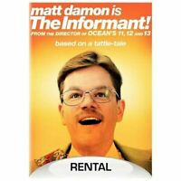 THE INFORMANT DVD ****disc only******