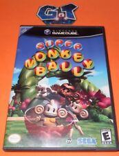 SUPER MONKEY BALL Nintendo Game Cube GC CIB Disc, Case, Manual