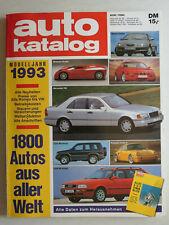 auto katalog Modelljahr 1993 Nr. 36 - Vereinigte Motor-Verlage GmbH, 230 Seiten