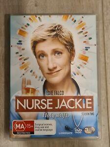 Nurse Jackie Season 2 DVD - Region 4 - FAST POST