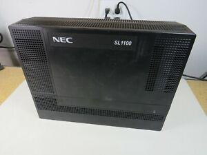 NEC IP4NA-1228M-B KSU 1100010 SL1100 Main Cabinet Phone System