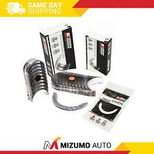 King Main Rod Bearings Fit 98-08 Toyota Celica Corolla Matrix MR2 Pontiac 1ZZFE