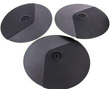 "Simmons SDP9K12CP 12"" Cymbal Pad/Hi-Hat Pad 3-PACK, NEW"