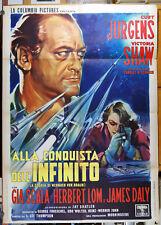 manifesto 2F film WERNHER VON BRAUN Curt Jurgens Victoria Shaw - Martinati art