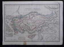 § carte Asiae Minoris tabula descripta conatibus - Félix Delamarche 1829