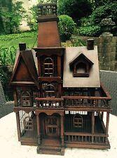 "Handmade Vintage/Antique Bird House Cage -31""X 21""X 12"""