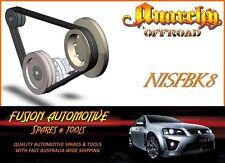 Fan Belt Kit for NISSAN PATROL GQ 3.0L 6 CYL CARB RB30 NIS8
