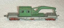 1930's Original Tootsietoy # 1087 Swivel Working Crane Railroad Train Car Ex+