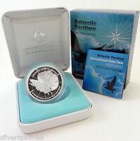 2007-2008 $5 POLAR SERIES SKUA Silver Proof Coin