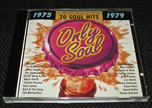 ONLY SOUL1975-1979 Complete in Case CD 20 Hits Complete in Case Tested Music