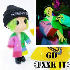 Handmade G-dragon Figure Model FXXK IT GD Doll KPOP BIGBANG Toy Birthday Gifts