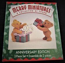 1999 Hallmark Keepsake Ornament Merry Miniatures 25th Anniversary Edition ~ Mint