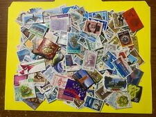 Iceland - lot of 350 different used stamps