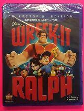 Wreck-It Ralph (Blu-ray/DVD, 2013; Collector's Edition, 2-Disc Set) Disney