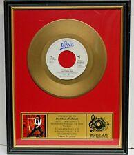 Michael Jackson - Leave Me alone - Goldene Schallplatte - Music Art Collection