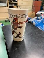 1980 Ted Simmons Cardinals Slush Puppie Collector's Series Cup #14