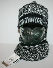 Buff Neckwarmer and Hat Optical Black