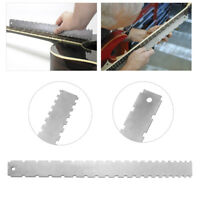 Guitar Neck Notched Straight Edge Luthiers Tool for Most Electric Guitars Frets