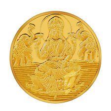 RSBL eCoins Lakshmiji 10 gm Gold Coin 24kt purity 995 Fineness- WITH TAX INVOICE