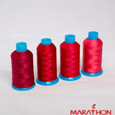 Marathon Polyester Embroidery machine thread: Shade Pack -  Reds 4 x 1,000m
