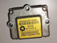 Chrysler 300M Bj. 2004 Airbagsensor P04602318AB 39754C TMH1423R0105