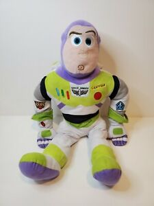 "Disney Pixar BUZZ Lightyear 23"" Toy Story 4 Large PLUSH Stuffed Doll Figure"
